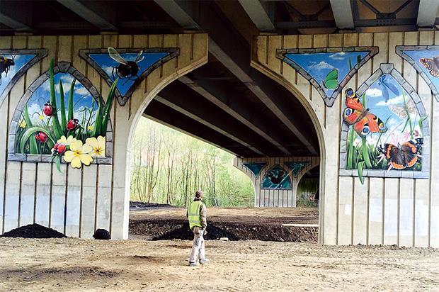 Viaduct: transformation work