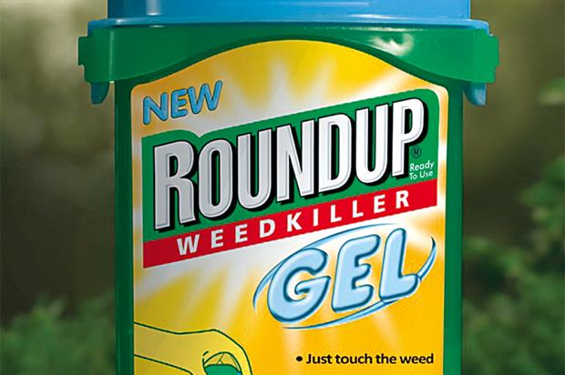 Roundup: contains glyphosate