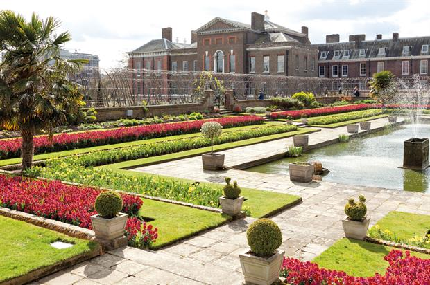 Royal Parks: Sunken Gardens at Kensington Gardens - image: Greywolf/The Royal Parks