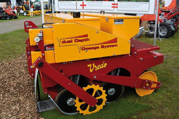 Vredo Sport Series overseeder - image: Campey Turf Care Systems
