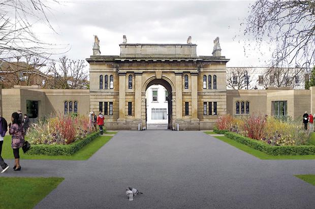 Brompton Cemetery: funding will go towards work including restoration of historic buildings such as north lodge