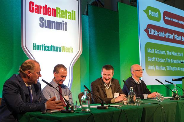 Garden Retail Summit: panel discussion covered subject of plant supply and 'little-and-often' plant supply policy