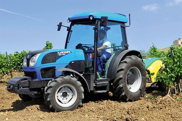 Landini Rex  fruit tractor - image: AgriAgro UK