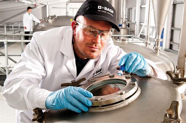 Fermentor: beneficial nematode production facility - image: BASF