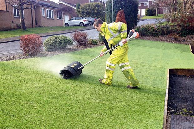 Paxman: landscaping contracts. Image: Paxman Landscapes