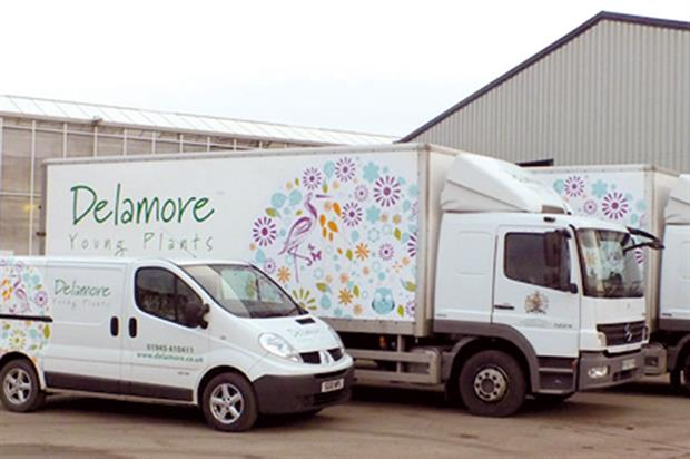Delamore's vehicle fleet has been refreshed ahead of the new season (pictured above). The new design reflects Delamore's branding and the producer's recent incorporation into Volmary.