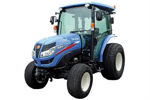 Iseki TG Series compact tractor - image: Ransomes Jacobsen