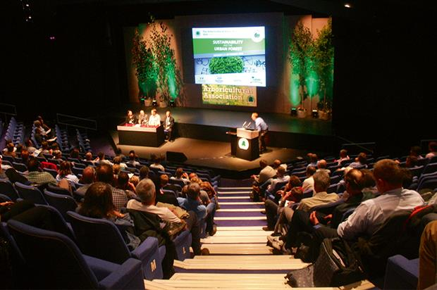 Amenity conference: sustainability and the urban forest was the theme for the Arboricultural Association's event - image: HW