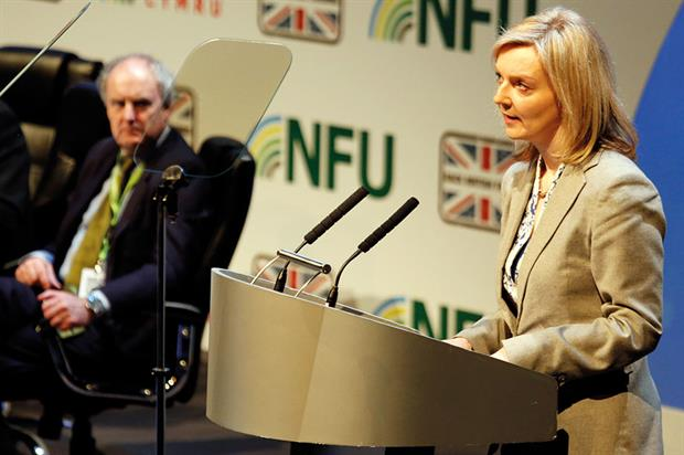 Truss: Defra secretary of state addressed industry delegates at the NFU's conference in Birmingham last  - image: HWweek