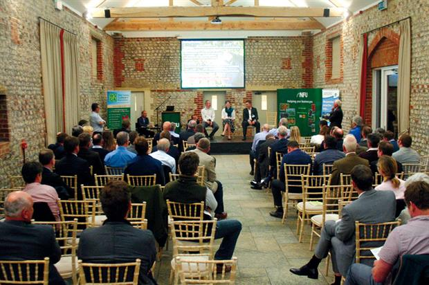 Plan to Grow: speakers and delegates attending recent conference organised by West Sussex Growers Association - image: HW
