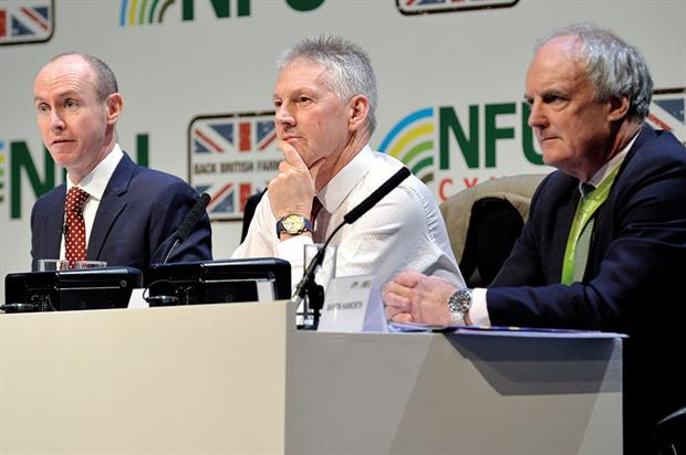 Debate: speakers highlighted uncertainties over access to markets imports from rest of the world and regulations - image: © Simon Hadley/NFU