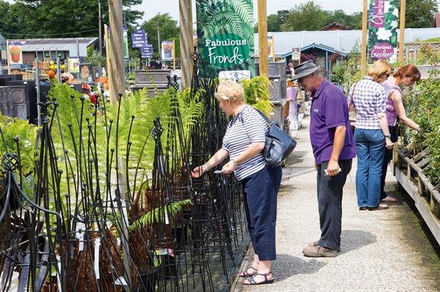 Garden centres: traditional gardening market has been estimated to be worth approximately £5bn a year by value - image: HW