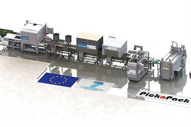 PicknPack: prototype packing line is capable of adapting to a wide range of fresh produce as well as other foods