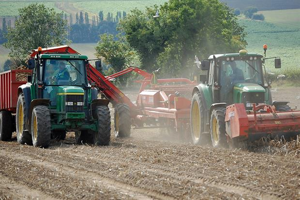 Income from farming fell in 2014 to £5.4bn, say new Defra figures - image: David Wright