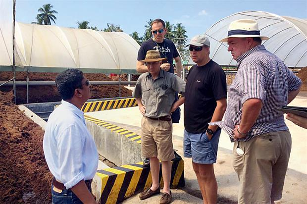 Factory: coir production facilities in Sri Lanka toured by customers - image: Botanicoir