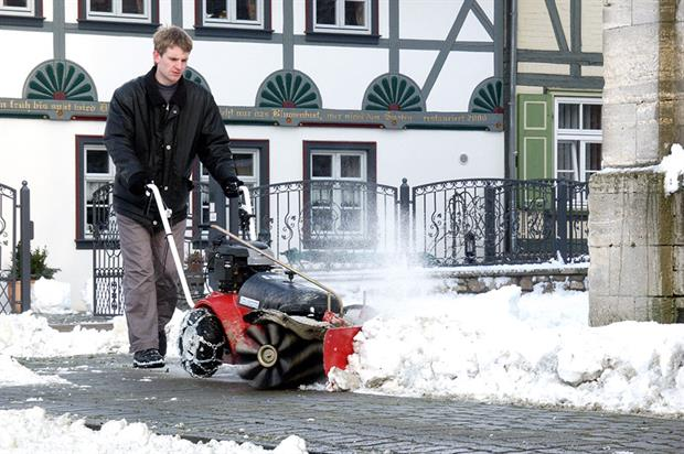 Snow clearance: equipment needs to be in place for typical conditions in your area - image: Wessex International