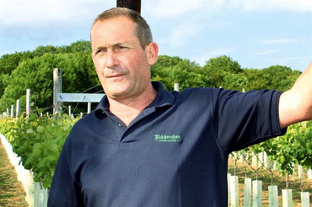 Barnes: gave guided tour of Biddenden Vineyards in Kent last week - image: HW