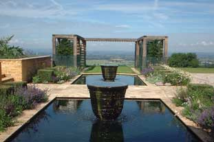 This contemporary private garden by Graduate Gardeners won the BALI Design and Build award - photo: BALI