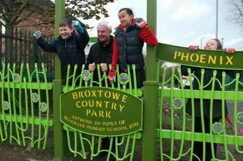 Broxtowe County Park redevelopment opens: image: Broxtowe County Park