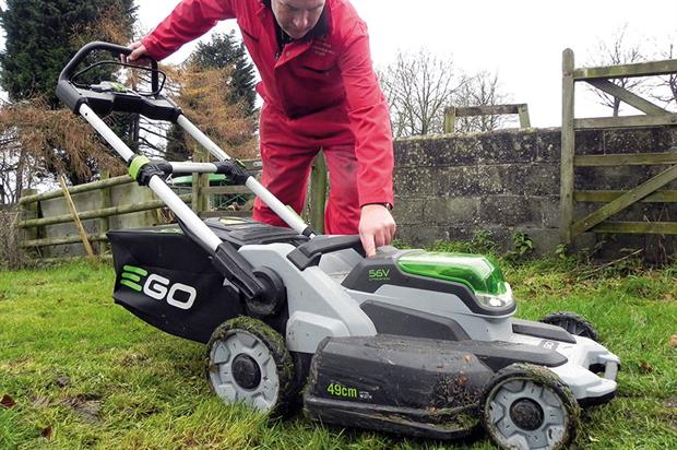 EGO Power+ Cordless lawnmower - image: HW