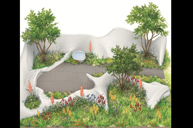 Fernando Gonzalez' Chelsea garden     Image: Irene Laschi