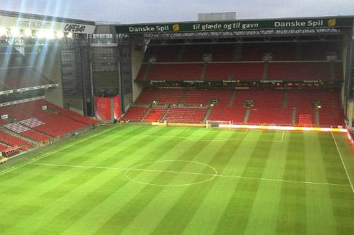 Former Wembley groundsman works on Danish national stadium with InTurf - image: InTurf