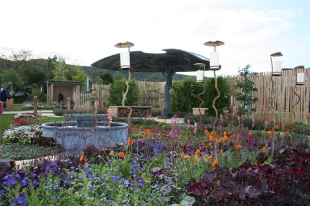 Hannah Genders' Malvern Spring Festival garden       Image: Supplied