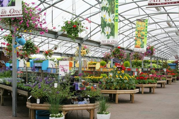 The Middleton branch of Stafford's All in One garden centre