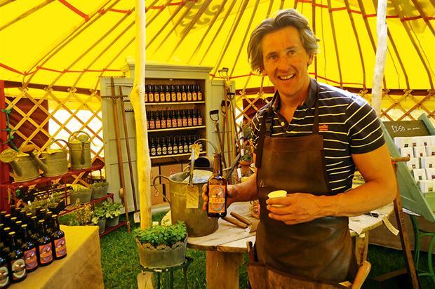 Hamish Martin, owner, Secret Herb Garden - image: Secret Herb Garden