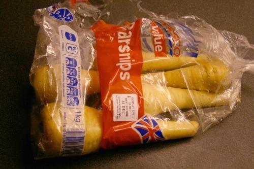 Tesco Value parsnips - image: Mike Reys