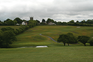 St Mellion after 160,000 tonnes of earth were moved to landscape the new course - image: St Mellion