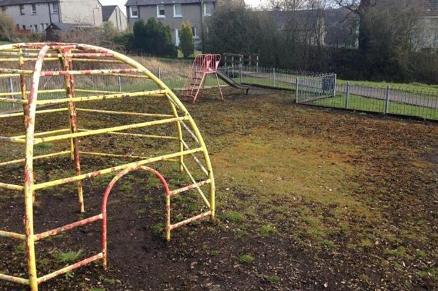 One of the neglected playgrounds featured in Nowhere to Play. Image: API