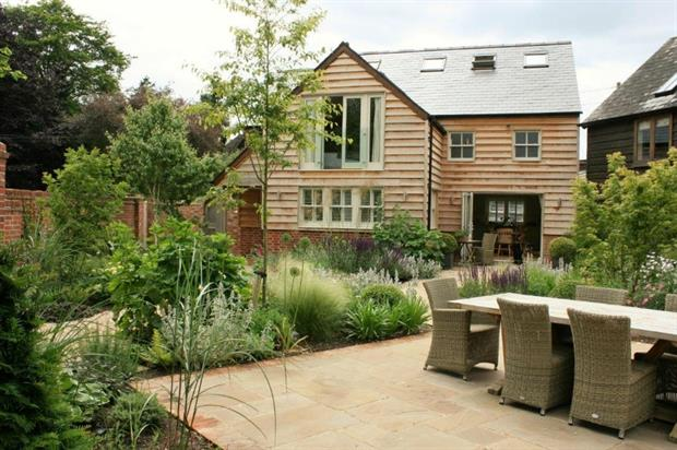 The winning project: Garden for Country Cottage and Barn, South Stoke Oxon by Creative Landscape Co. Image: APL