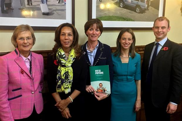 Baroness Byford, Helen Grant MP, Ali Capper, Helen Whately MP, Matt Warman MP - image: Helen Whately