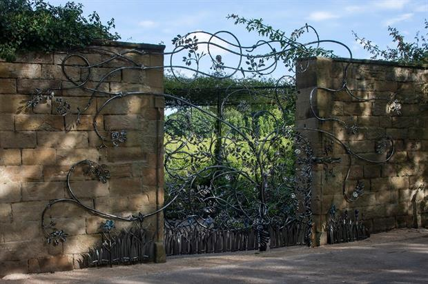 "The ""Duchess Gates"" at Alnwick. Image: Graeme Peacock"