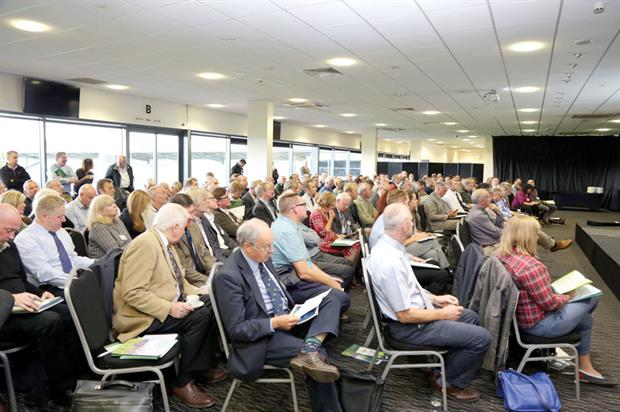 The Amenity Forum conference in 2016 was fully booked.