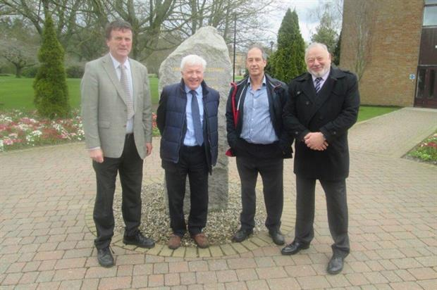 L-R CAFRE's Kieran Lavelle, John Moverley, BASIS' Peter Corbett, and the CRD's Nigel Chadwick. Image: Supplied