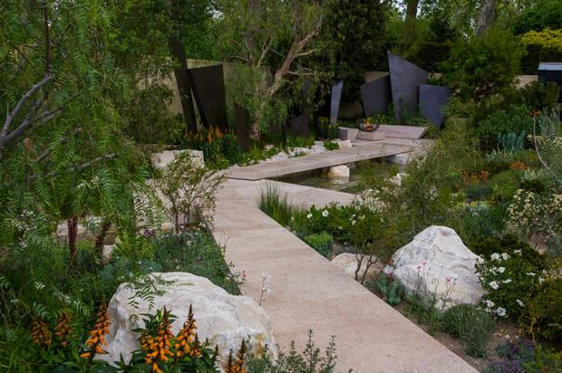 The Telegraph Garden by Andy Sturgeon. Image: HW