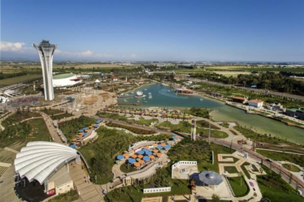The Expo 2016 Antalya from above