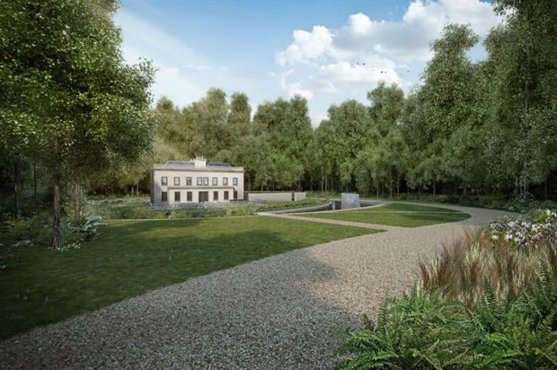 Artist's impression of Debden Hall. Image: Clear Architects