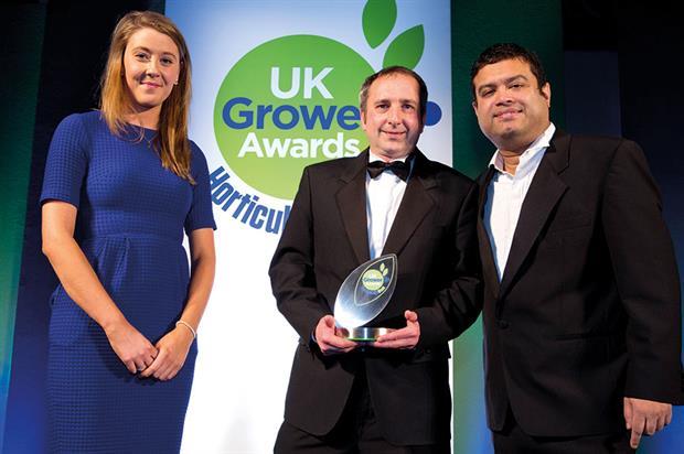 Best Agronomist - Winner John Sedgwick, Produce World Group