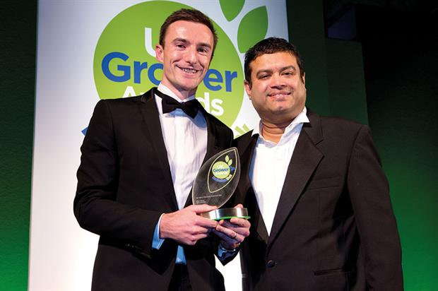 Top Sales or Marketing Professional - Winner Mike Gibbon, sales manager, Berry Gardens