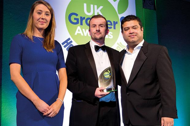 Best Production Manager - Winner Jonathan Marquis, Lovania Nurseries