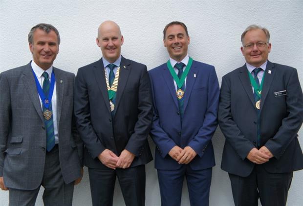 (L-R) Richard Stone, Paul Downer, Matt O'Connor and Robert Field