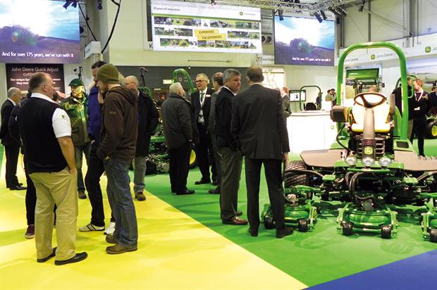 BTME: demonstrating the latest products and machinery to help turf professionals - image: HW