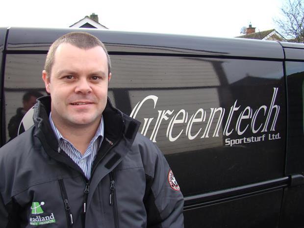 Greentech Sportsturf's Kyle Irwin
