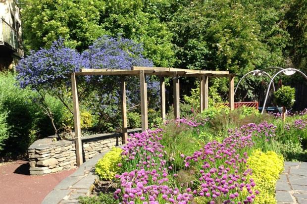 Barony Community Garden. Image: Edinburgh City Council