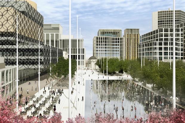 The winning Centenary Square design. Image: Graeme Massie Architects