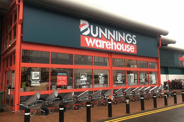 Bunnings Warehouse: newly opened store in St Albans set to be followed by another three before the end of June - image: HW