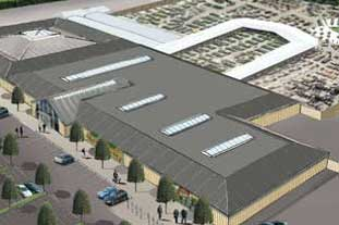 Wyevale's plan for a £4m Sanders garden centre deemed a threat to local business - photo: Wyevale